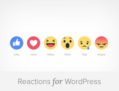 كيف تقوم بإضافة مشاعر الإعجاب والتفاعل في ووردبريس