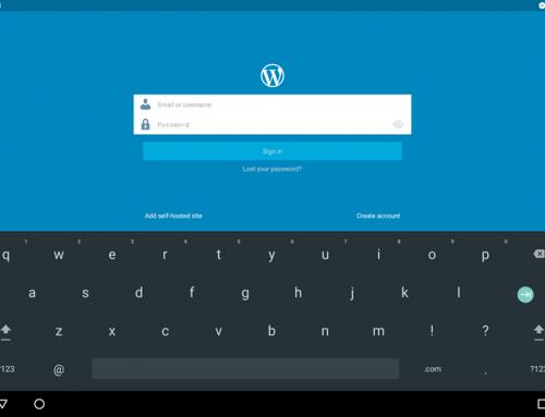 ووردبريس تطلق أصدار جديد لتطبيق الووردبريس على اندرويد
