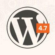 ووردبريس 4.7